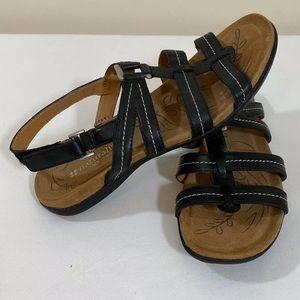 Naturalizer Leather Slingback Strappy Sandal 7.5